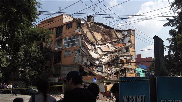 Terremoto en México, 19 de septiembre 2017.