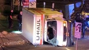 Scène de l'attentat d'Edmonton - CBC