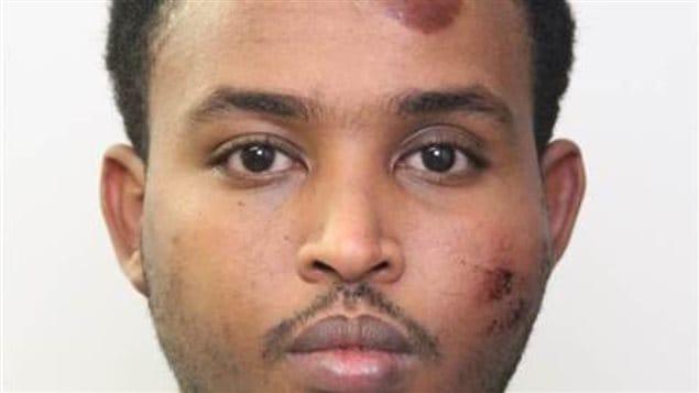 Le principal suspect dans l'attaque de samedi soir à Edmonton, Abdulahi Hasan Sharif, aurait été expulsé par les États-Unis.   Photo : Service de police d'Edmonton