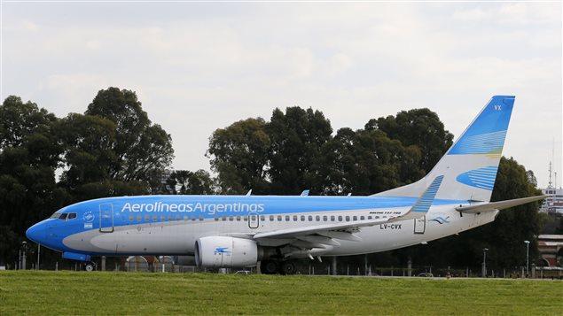 Boeing 737-700 de Aerolíneas Argentinas.