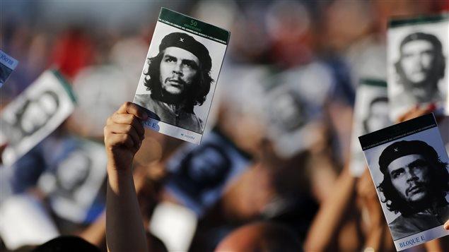 El pueblo cubano rindió homenaje al Ché este domingo 8 de octubre en Santa Clara, Cuba.