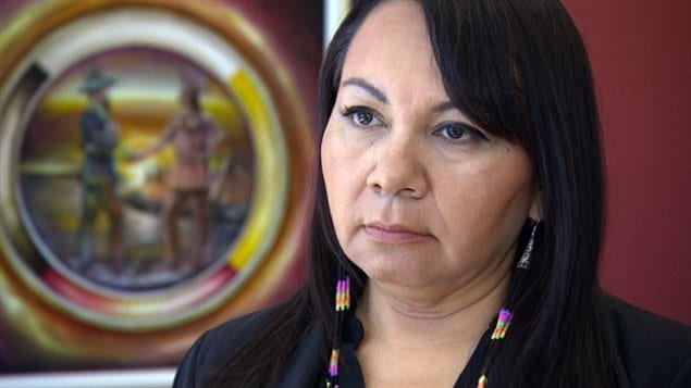 Sheila North Wilson, grand chief of Manitoba Keewatinowi Okimakanak (MKO), says the chief commissioner of the inquiry needs to resign.