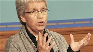 Brigitte Sansoucy, députée du NPD