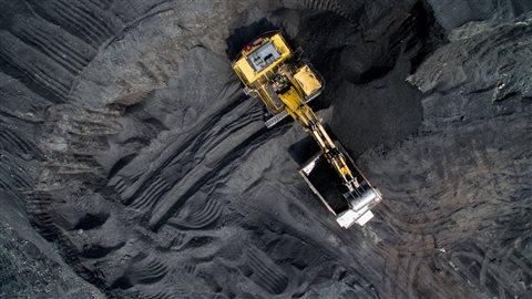 Mine de charbon à ciel ouvert Photo : iStock