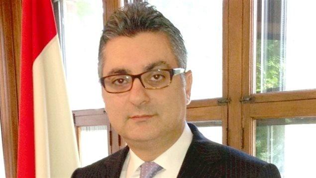 قنصل لبنان العام في مونتريال السفير فادي سعادة