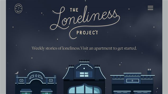 Marissa Korda's The Loneliness Project website explores the loneliness many people feel but are reluctant to talk about.