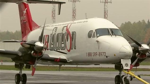 L'avion était à 3 kilomètres de l'aéroport, à environ 1500 pieds (457 mètres) au-dessus de l'autoroute Laurentienne, lorsqu'il a été percuté par un drone à l'aile droite.