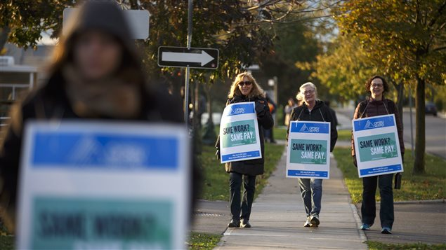 About 12,000 professors, instructors, counsellor and librarians at Ontario colleges have walked out.