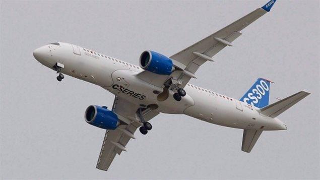 庞巴迪的C系列客机被认为是先进的中型客机