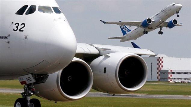 庞巴迪C系列客机与空客公司客机系列成互补关系