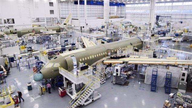 庞巴迪C系列客机可能会在美国组装