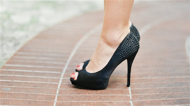 Studies have already found that wearing high heels can cause injuries.