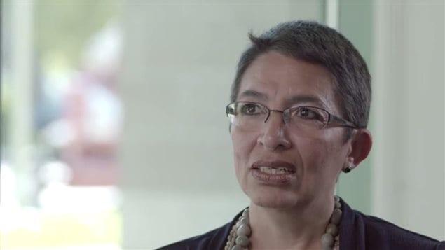 Hada Lopez, escritora quebequense de origen salvadoreño.
