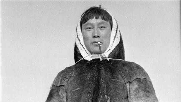Barnabus Arnasungaaq of Baker Lake in Nunavut, in 1949. (S.J. Bailey/Indian and Northern Affairs Canada/Library and Archives Canada)