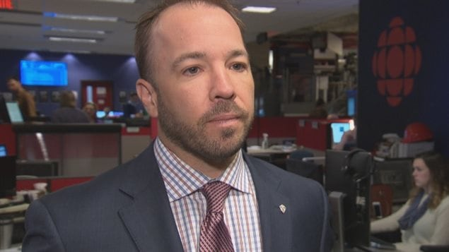 Mathieu Larocque, CATSA spokesperson, says airline passengers will no longer be subjected to automatic police questioning when travelling with medicinal pot. (CBC)