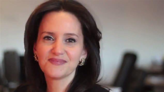 "Caroline Codsi, presidenta y fundadora de ""La Gobernancia femenina*."