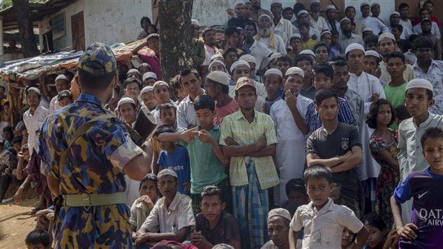 Rohingya people fleeing Myanmar add to the increasing number of refugees who need settlement.