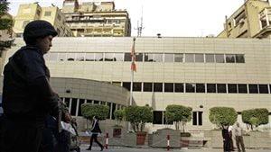 L'ambassade du Canada en Egypte. © SRC/Ahmed Abd El Latif