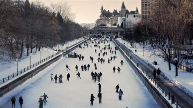 Photographer and teacher Barbara Havrot submitted this photo of the Rideau Canal Skateway, taken early 2015.  Skating along the canal in winter is a hugely popular attraction in the National Capital