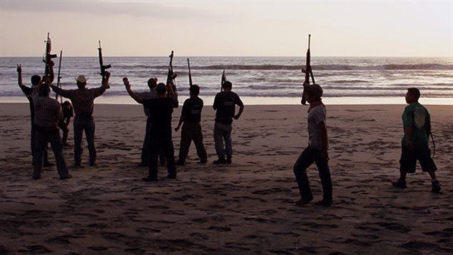 Una imagen del documental *Recuperando el paraíso* de los realizadores José Arteaga y Rafael Camacho.