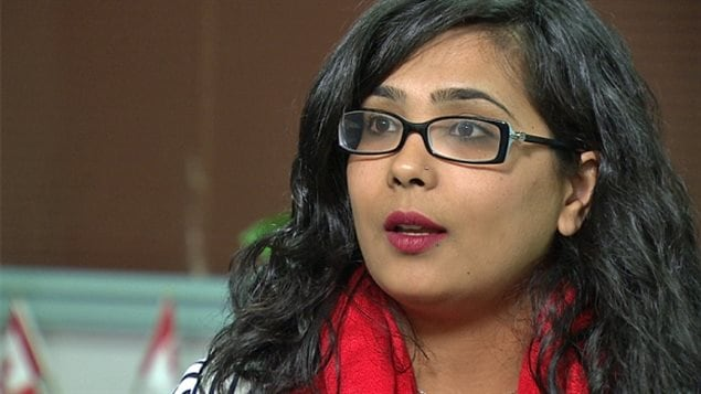 Iqra Khalid, the Mississauga-Erin Mills Liberal MP who sponsored M-103