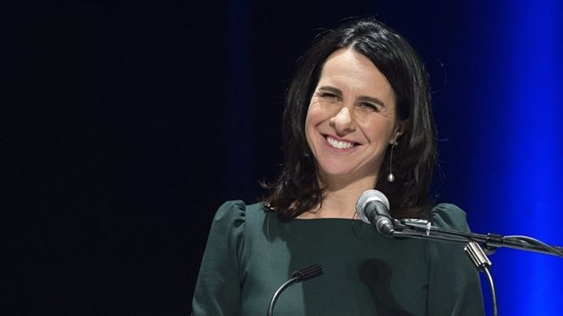 فاليري بلانت رئيسة بلديّة مونتريال تتحدّث بعد فوزها في الانتخابات