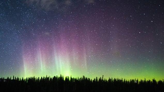 拍摄北极光美景需要些技巧
