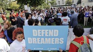 Quelque 1,7 million de personnes pourraient être admissibles au programme des «Dreamers», et près de 800 000 sont enregistrées.PHOTO ARCHIVES AP