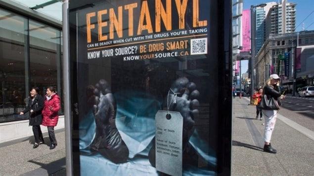 芬太尼毒品过量致人死亡已成为加拿大的严重问题