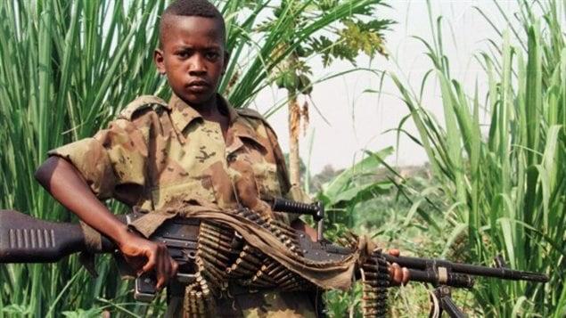 Un niño soldado
