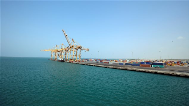 A view of the Red Sea port of Hodeida, Yemen November 7, 2017.