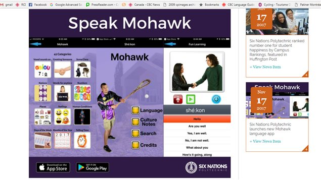 A new app provides one way to help stem the loss of one Indigenous language.