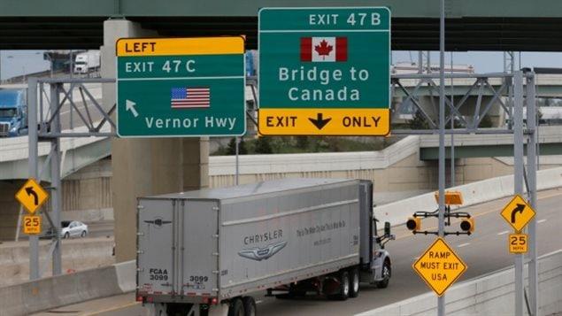 加拿大的出口市场至少75%是在美国