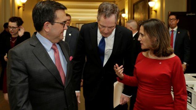 加美墨三国修改 NAFTA 的谈判很不顺利