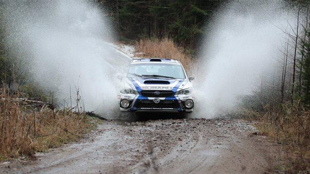 Subaru Rally Team wins decisively at Tall Pines Rally