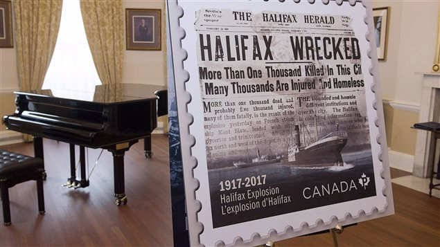 The Halifax Explosion was such a momentous event in Canadian history that the post office issued a commemorative stamp on November 6, 2017.