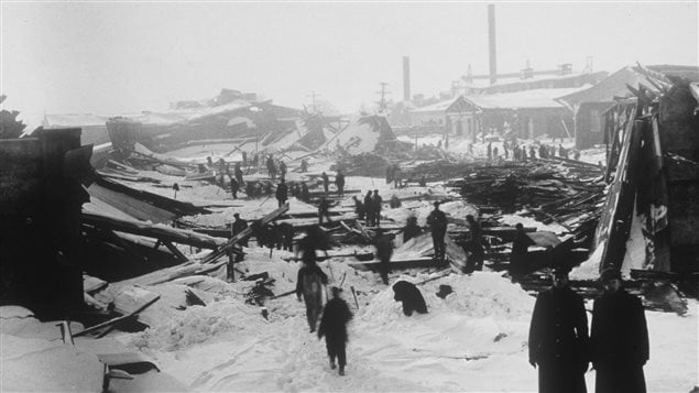 The explosion on December 6, 1917 levelled much of the eastern city of Halifax causing extensive death and injury.