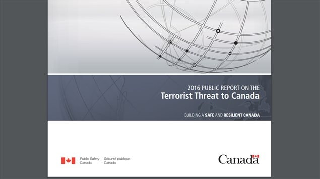 Canada's analysis of terrorist threat lists Daesh or ISIS as a serious concern