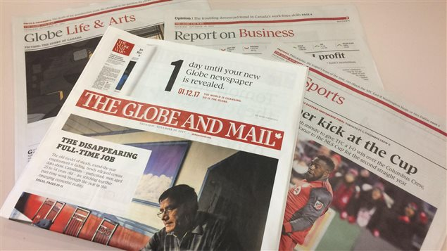 Canada's national authoritative newspaper will stop print copies in Atlantic Canada today.