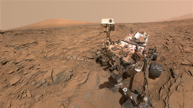 Curiousity Rover on Mars- self portrait May 11, 2016 The Martian soil is sterile and slightly toxic. Earthworms will be needed to help in the modification of the soil in order to grew food crops