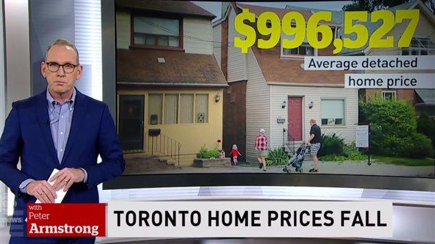 大多伦多地区独立房价格虽降但仍需百万加币
