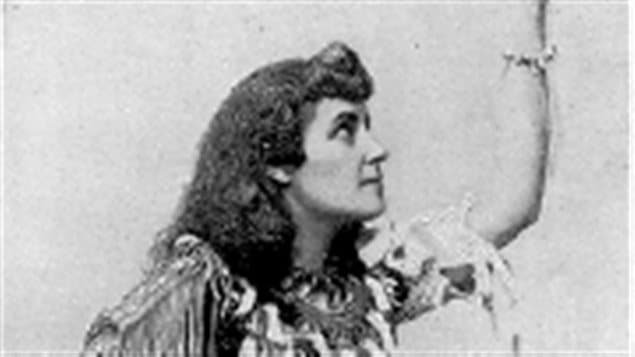 E Pauline Johson, First Nations poet, author, performer d-1913 often mistakely attributed as the author of *Land of the Silver Birch*