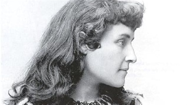 E Pauline Johnson, Mohawk author, poet, performer  (d-1913) has been drawn into a lawsuit over an iconic Ontario folk song she didn't write