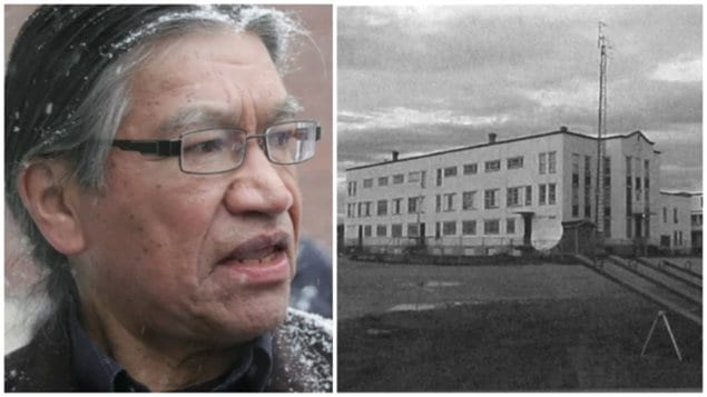 Edmund Metatawabin is a survivor of St. Anne's residential school in Fort Albany, in northern Ontario on James Bay. He and others endured harsh treatment including being forced to eat vomit, and electric shocks for breaking rules.