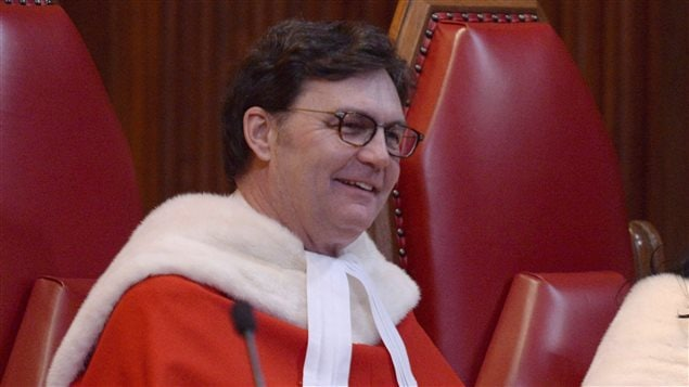 Richard Wagner will become chief justice of the Supreme Court of Canada on Dec. 18, 2017.