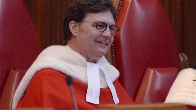 القاضي ريشار فاغنير رئيس محكمة كندا العليا