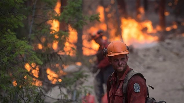 Canadians were interested in the British Columbia wildfires and how they could offer help to those affected by them.