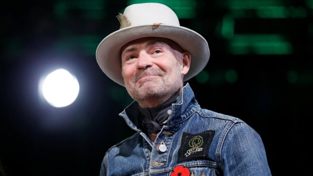 Tragically Hip singer Gord Downie, who died in October, has been named Canadian Press Newsmaker for the second consecutive year.