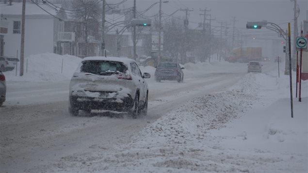 الشوارع مكسوة بالثلوج