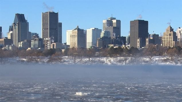Environment Canada says Montreal could be dealing with freezing temperatures into 2018.